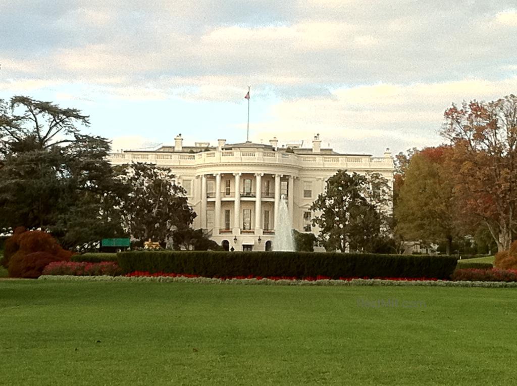 White House frontal photo