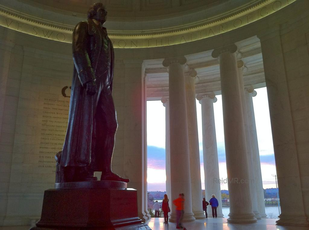 Statute of Jefferson in the Jefferson Memorial