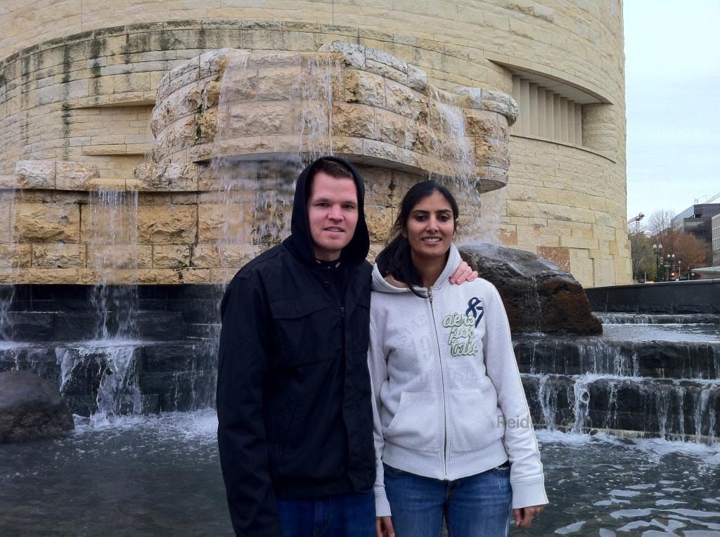 Prat and I at the National Museum of the American Indian