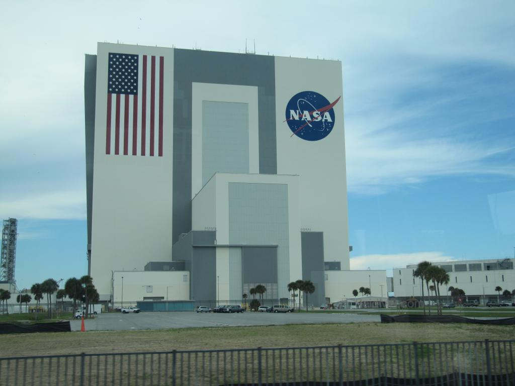 NASA building where they assemble spaceships