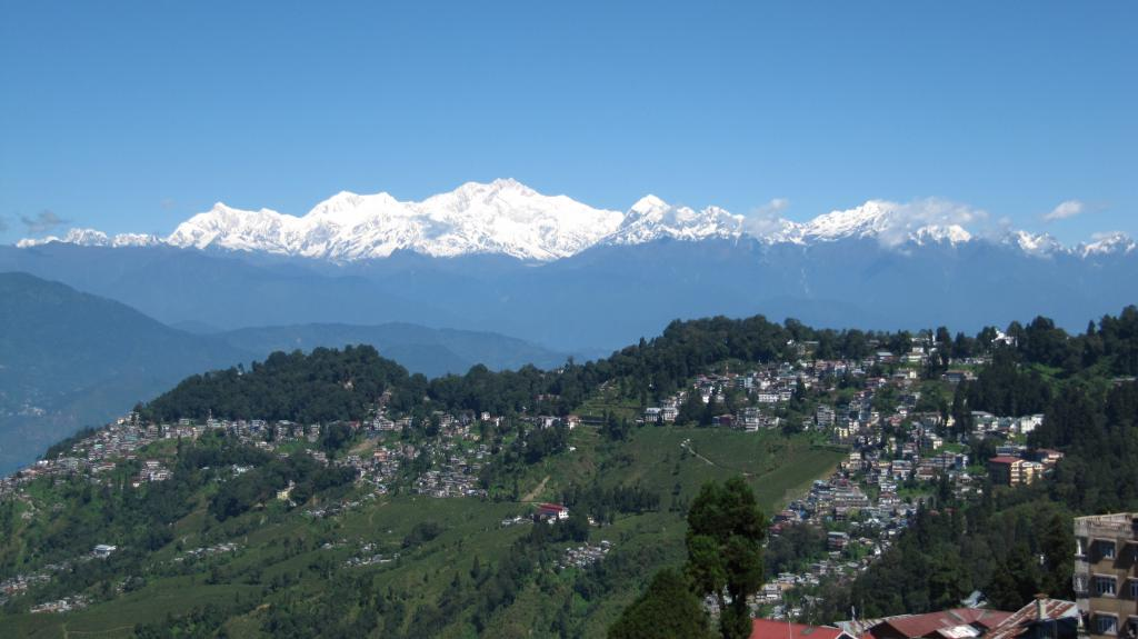 Another Darjeeling view of the Himalayan range