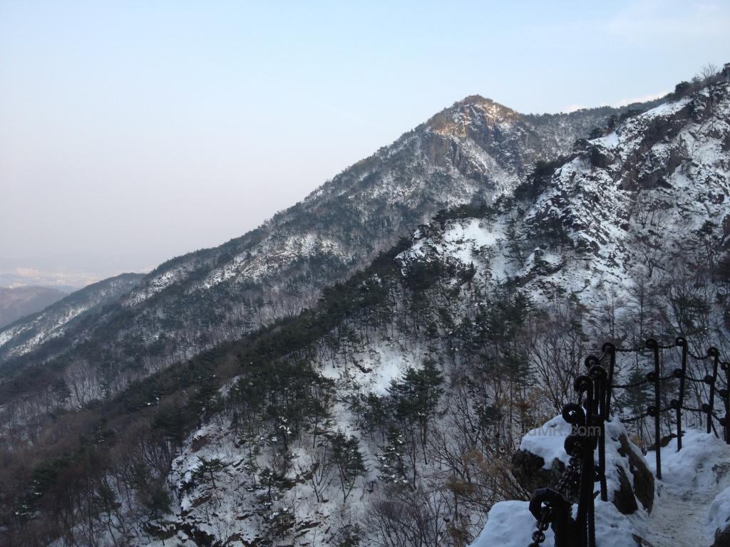 Mountain view near Gumi
