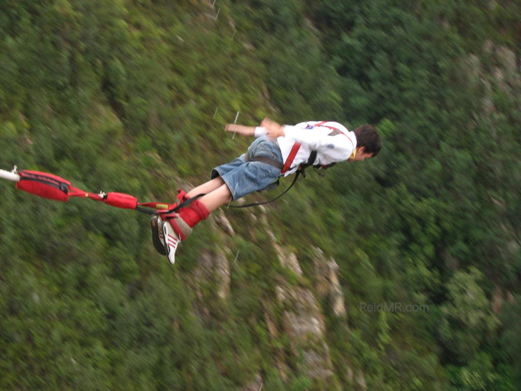 Bungee jump with my clothes on